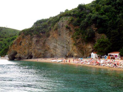 Пляжі Могрен в Будві