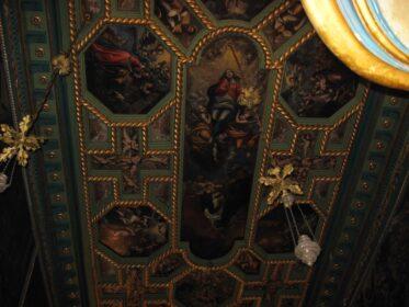 Стеля в церкві Діви Марії на Утьосі