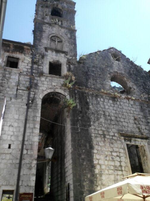 Руїни Домініканського монастиря в Которі