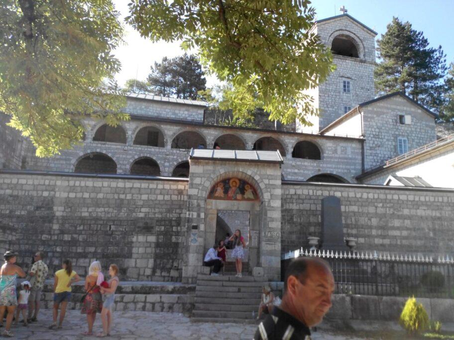Цетінський монастир - важлива пам'ятка Чорногорії
