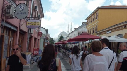 Улочки Албании