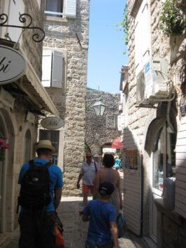 Вузькі вулички Старого міста