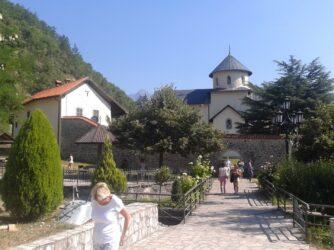 Вхід в монастир Морача