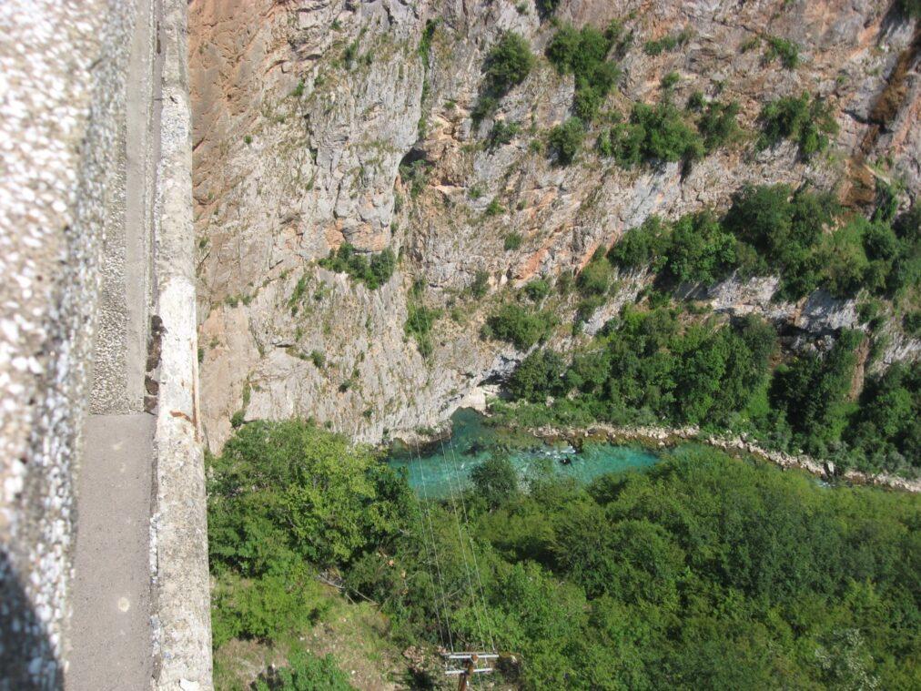 Вид на Тара з мосту Джурджевича