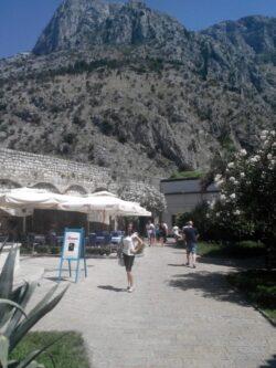Вид на скелі над Котором