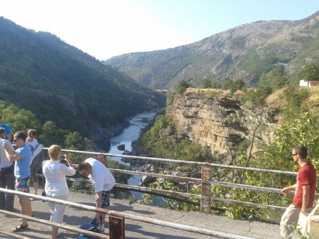 Каньйон ріки Морача
