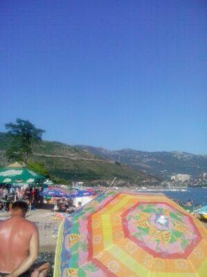 Самый популярный пляж - Славянский