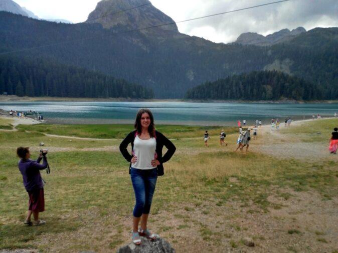Вид на Чорне озеро