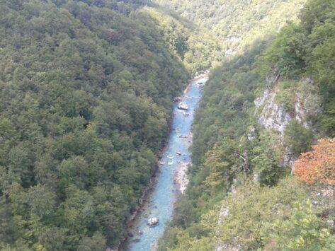 Вид на Тару з мосту Джурждевіча