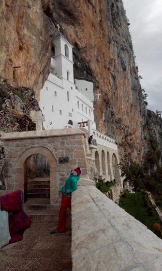Монастырь Острог осенью