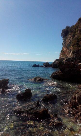 Море в Черногории осенью