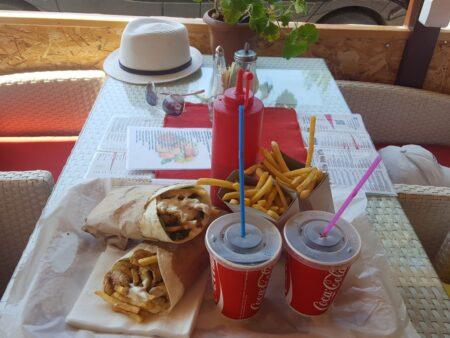 Питание в Будве в ресторанах и фастфуд