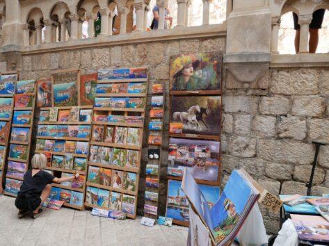 Картини в Дубровнику