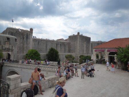 Крепостные стены Дубровника, Хорватия