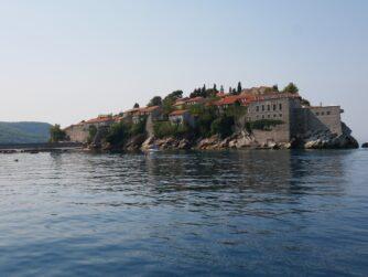 Остров Святого Стефана с нового ракурса, Черногория