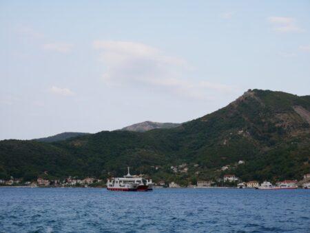 Паромная переправа в Черногории