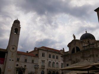 Площадь Ложа в Дубровнике, Хорватия