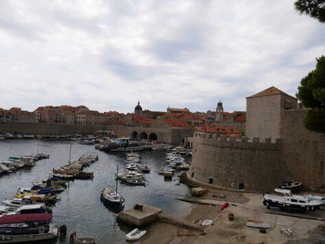 Старый городской порт Дубровника, Хорватия