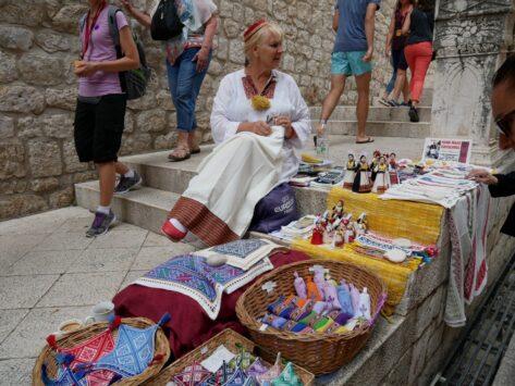 Сувениры в Дубровнике