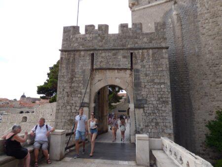 Ворота Плоче в Дубровнике, Хорватия