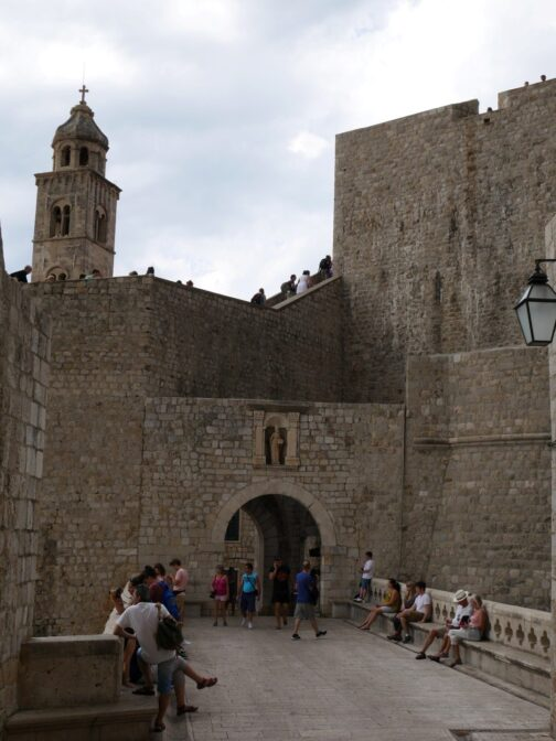 Ворота Плоче в Старом Дубровнике, Хорватия