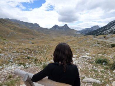 Высокогорье в Дурмиторе гора седло