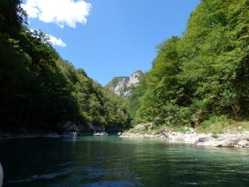 Первая часть рафтинга, Черногория