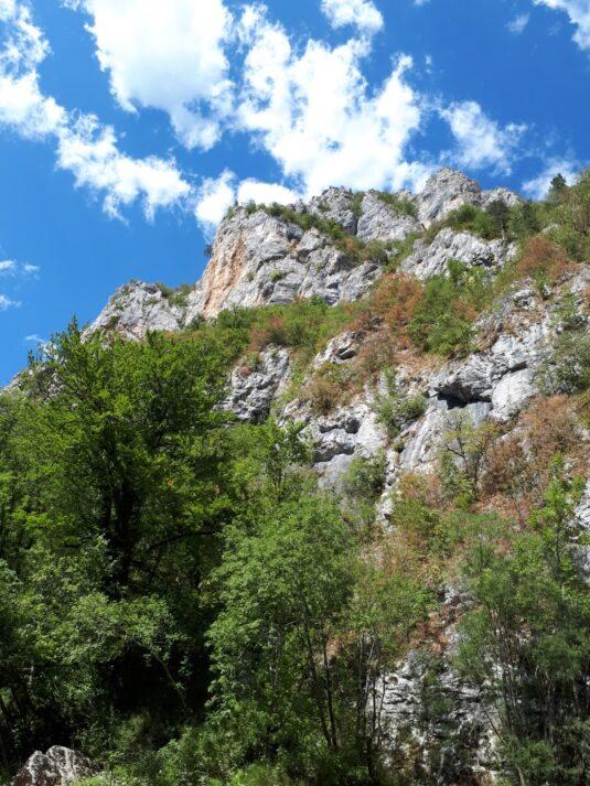 Пейзажі під час сплаву на рафтах, Чорногорія