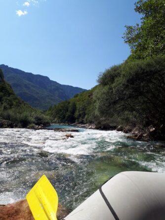 Пороги на рафтинге по Таре, Черногория