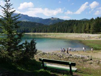 Черное озеро в национальном парке Дурмитор