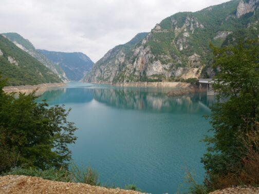 Панорама Пивского озера