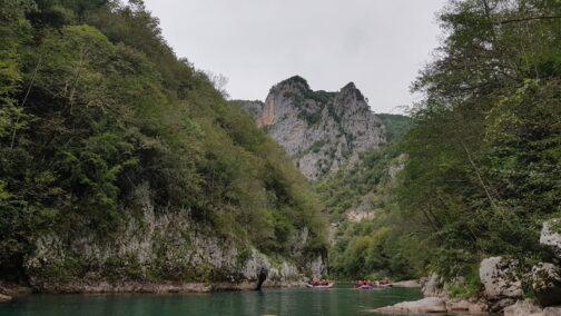 Сплав по реке Тара