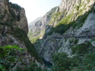 Ущелье Платье в Черногории