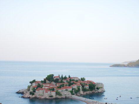 Вид на остров Святого Стефана