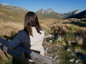 Аліна і гора Сідло