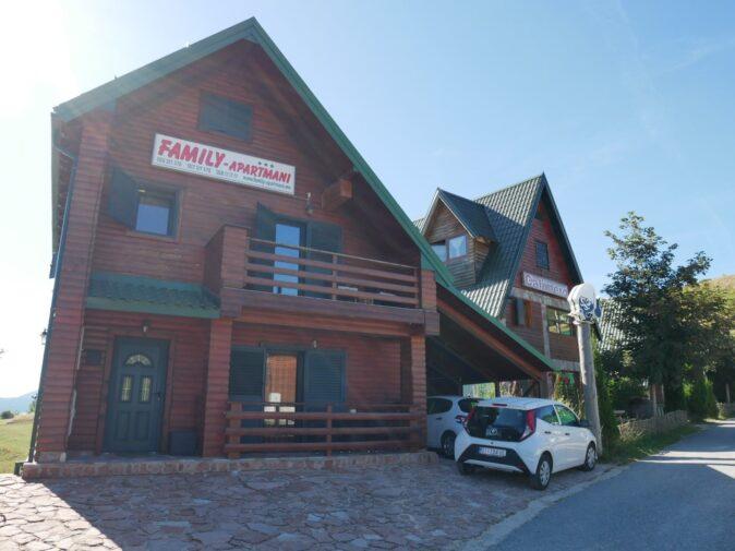 Будиночок у місті Жабляк