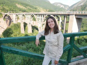 Фото моста Джурджевича з оглядового майданчика