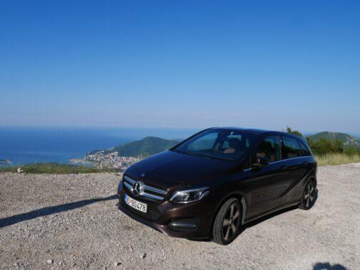 Комфортный мерс, аренда авто в Черногории