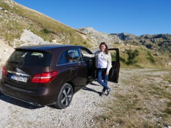 Поездка по горам на арендованном авто