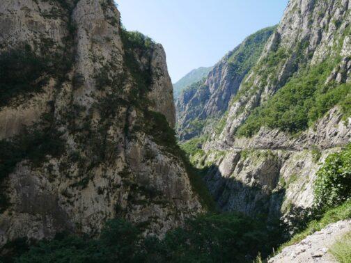 Ущелина Платіє в Чорногорії