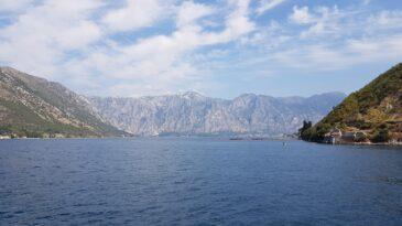 Боко Которский залив в Черногории