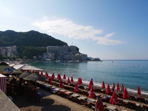 Один из пляжей в Рафаиловичах
