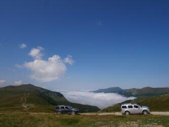 Прогулка на джипах по Черногории