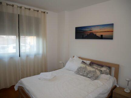 Спальня в хороших апартаментах