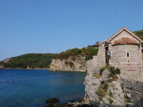 Церковь Марии ин Пунта и пляжи Могрен