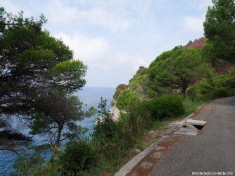 Дорога к пляжу Перажича До