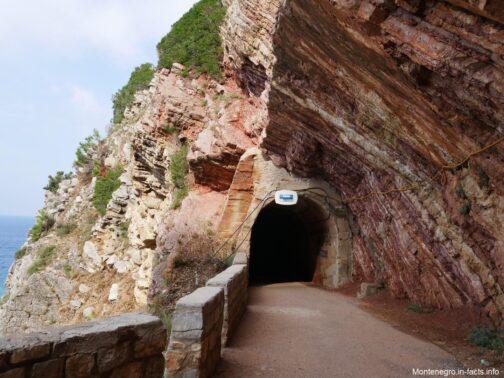 Тоннель около Петроваца